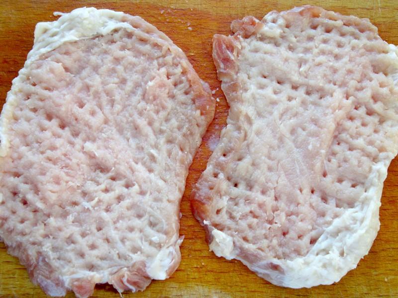 мясное блюдо - крученики
