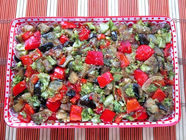 Картофельная запеканка с овощами