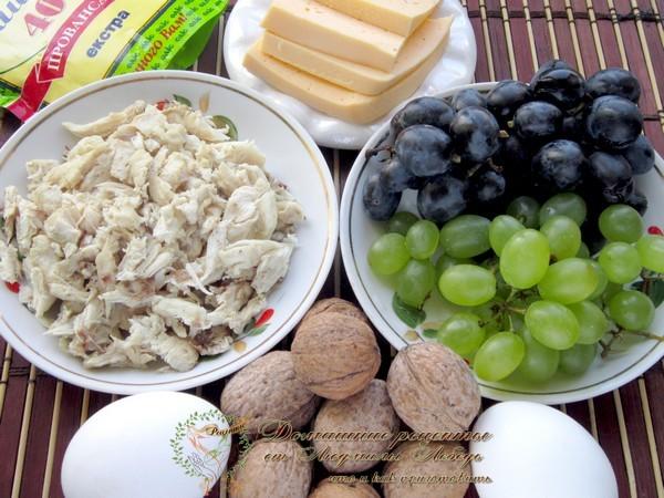 Как приготовить салат. Салат тиффани