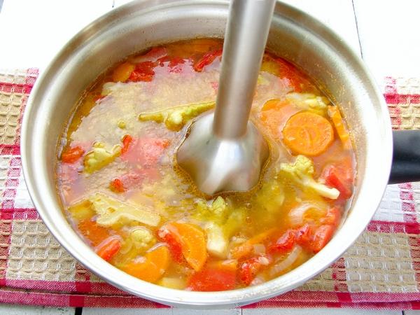 суп пюре из капусты