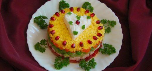 Простой праздничный салат