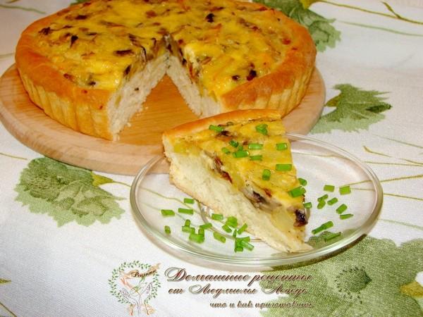 Как приготовить дрожжевой пирог