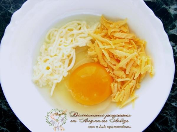С мясом как сделать яйцо