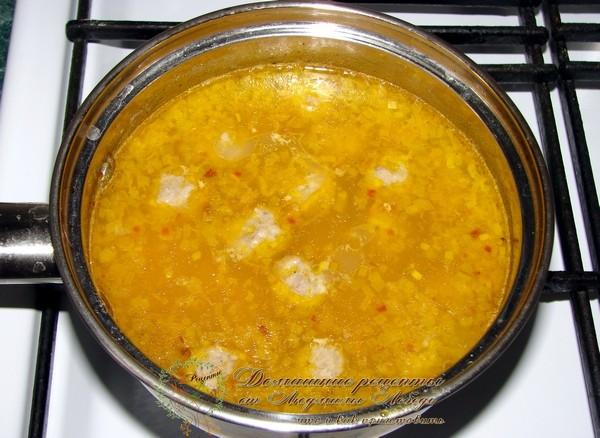 Как приготовить гречневый суп с фрикадельками