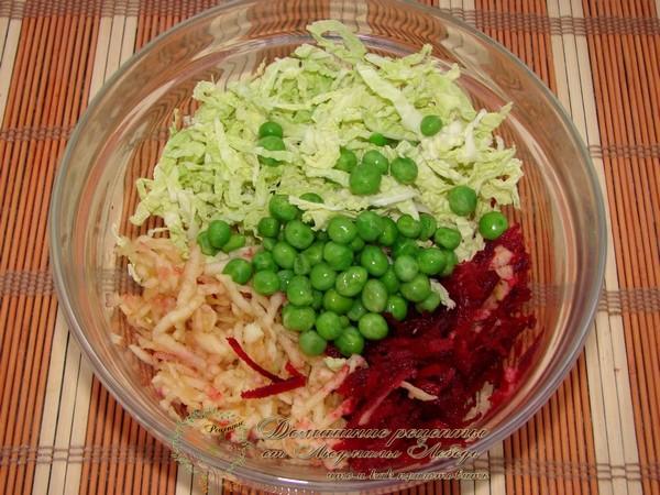 Как приготовить простой салат на каждый день. Савойская капуста рецепт