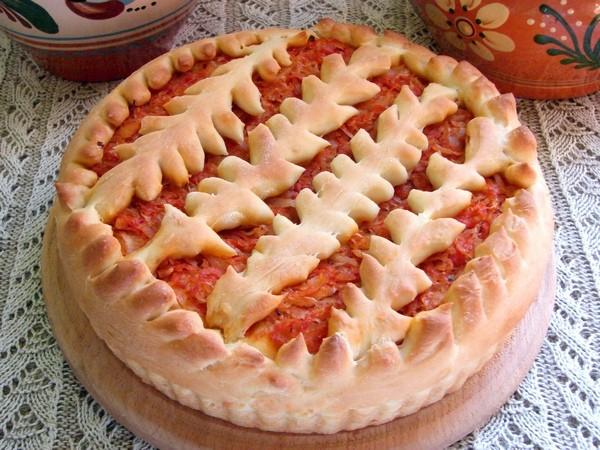 Как приготовить пирог дрожжевой с капустой