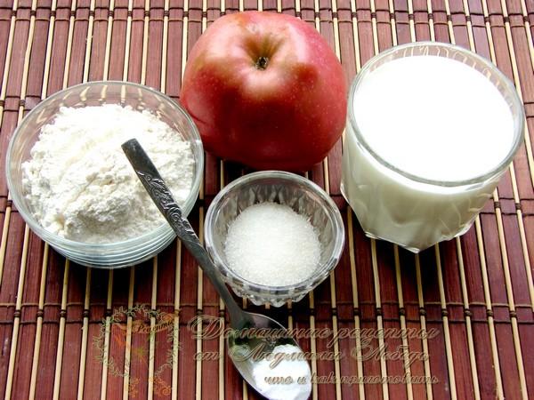 Как приготовить оладьи на кефире. Оладьи с яблоками