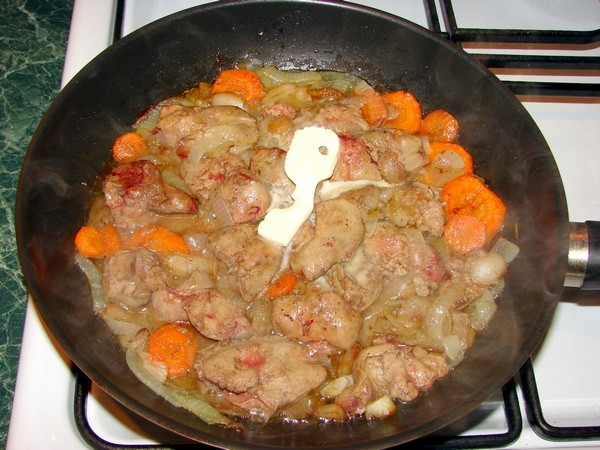 Как приготовить домашний паштет из куриной печени