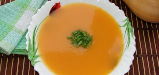 Как приготовить суп-пюре из тыквы. Вкусное блюдо из тыквы.