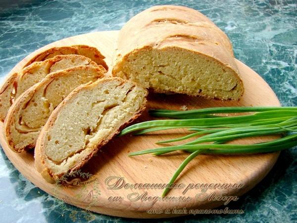 Как приготовить домашний хлеб в духовке. Хлеб на кефире без дрожжевой
