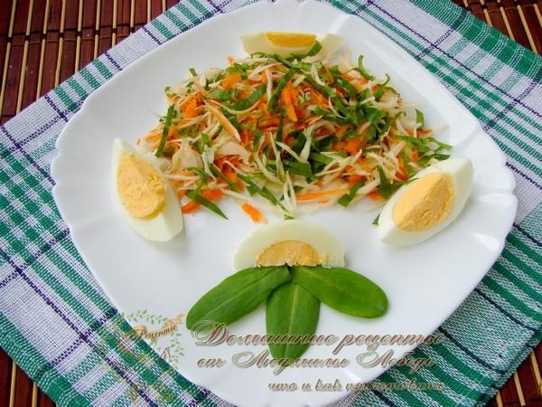 Как приготовить салат из капусты