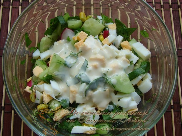 быстрый и простой рецепт салата с авокадо и