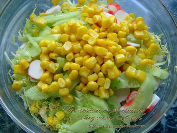 Как приготовить салат из молодой капусты