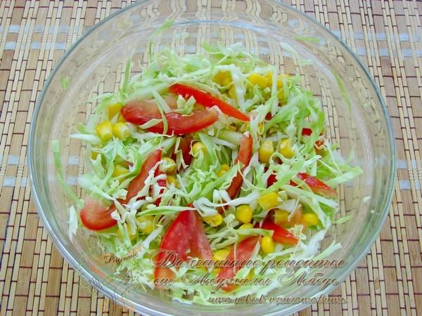 Как приготовить: вкусный салат из капусты