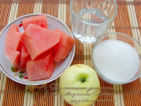 Рецепт сорбета. Арбузный сорбет с яблоком