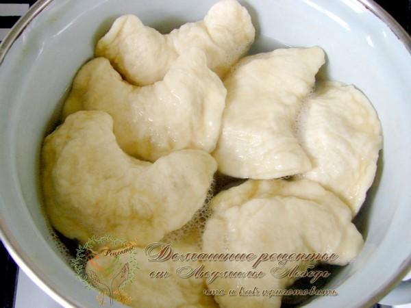 Вареники с картошкой. Рецепт вареников на кефире