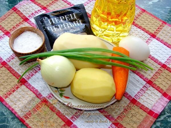 Драники картофельные. Рецепт картофельных драников