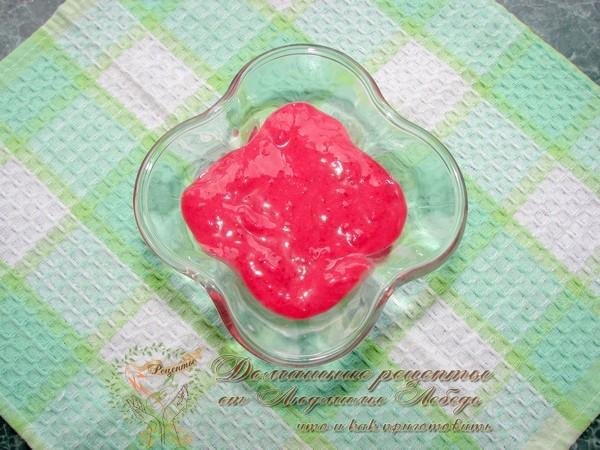 Творожный десерт. Вкусный десерт из творога, яблок и малины