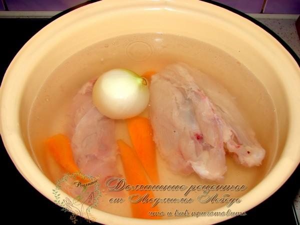 рецепт картофельного супа из куриного бульона