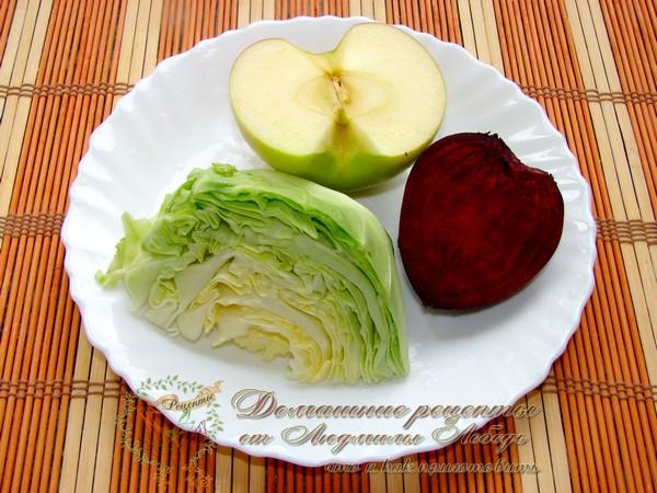 Салат лёгкий и вкусный