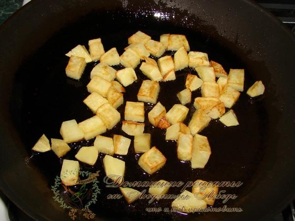Капуста тушеная с картошкой