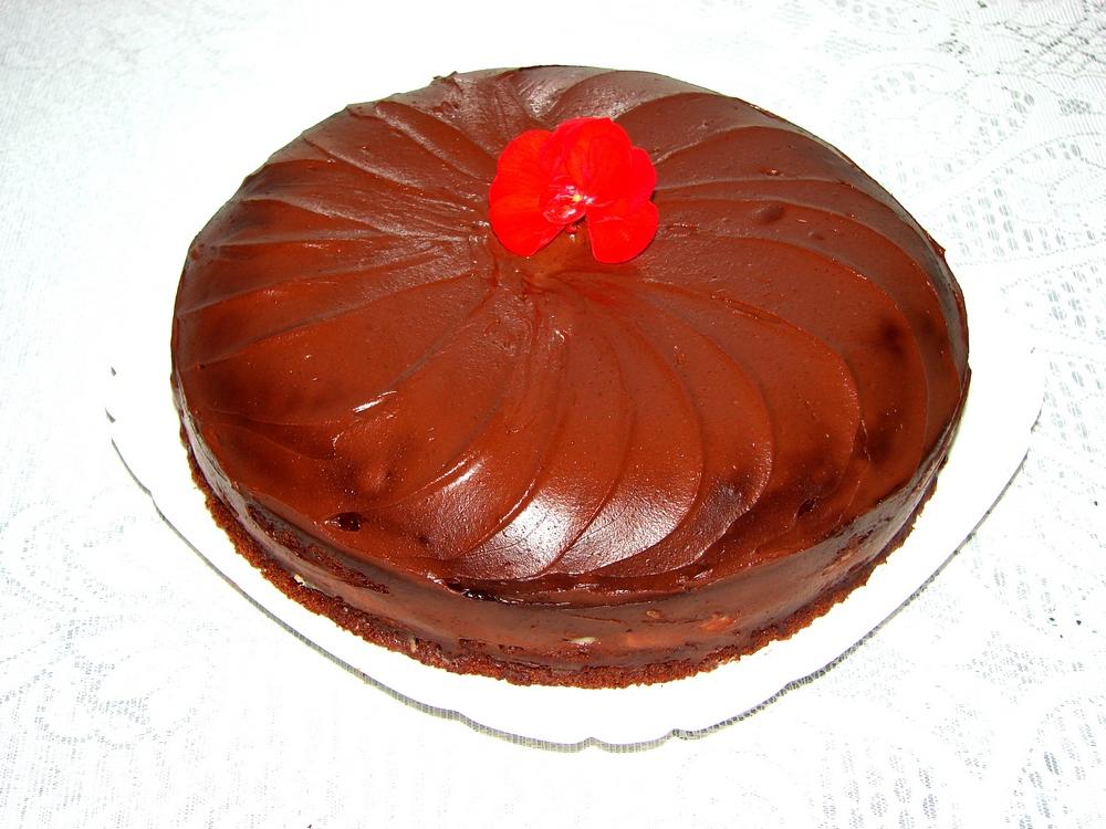 Простой шоколадный торт