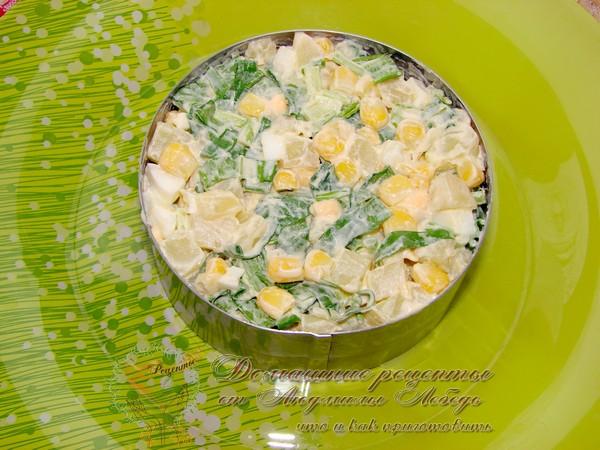 Салат из черемши